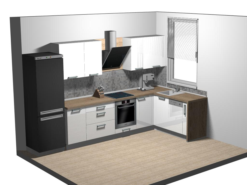 Variant A kuchyňa